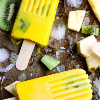 Anti-inflammatory Tropical Turmeric Popsicles