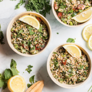 Carrot Top Tabouli Salad