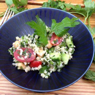 kale tabbouleh salad