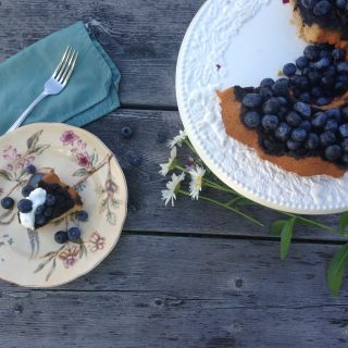 Gluten Free Upside Down Blueberry Bundt Cake and Why You Should Bake With Almond Flour