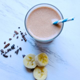 chocolate maca smoothie