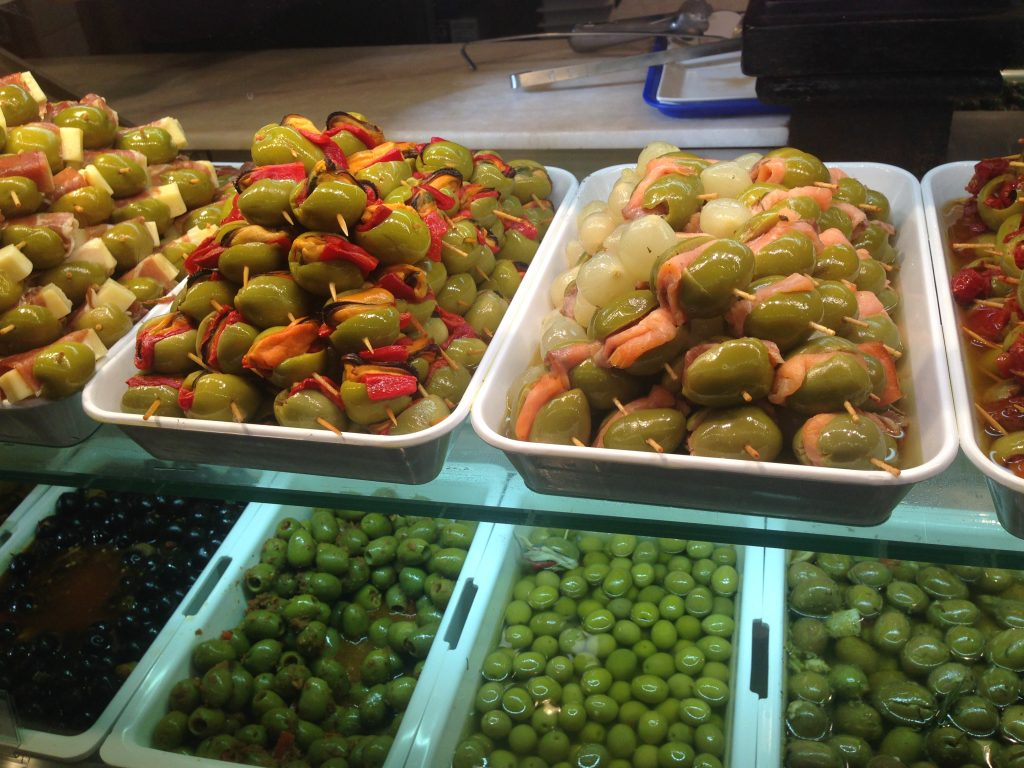 olives in spain