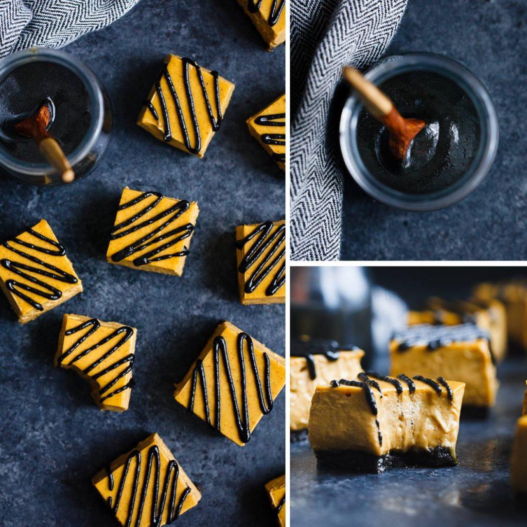 No Bake Vegan Black Sesame Pumpkin Pie Bites  + 35 other great pumpkin recipes