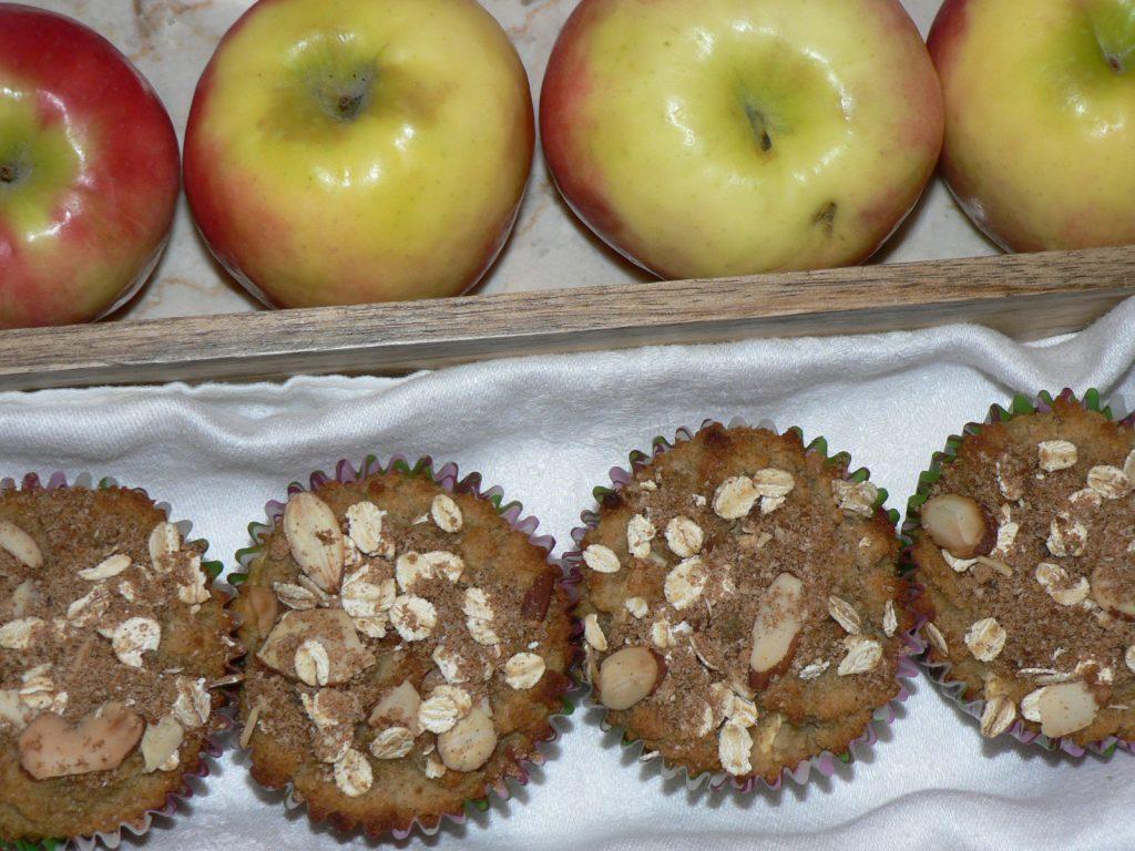 gluten free apple muffins