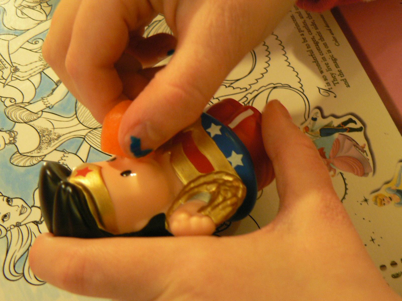 Wonder Woman veggies