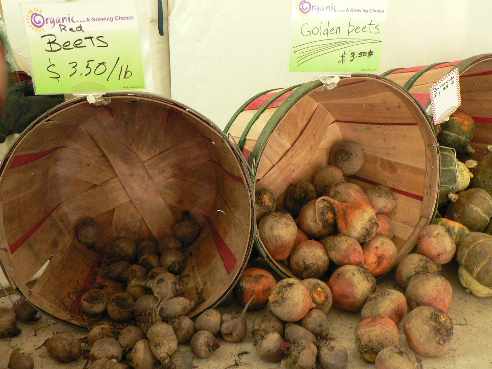 Fresh Beets at Green City Market