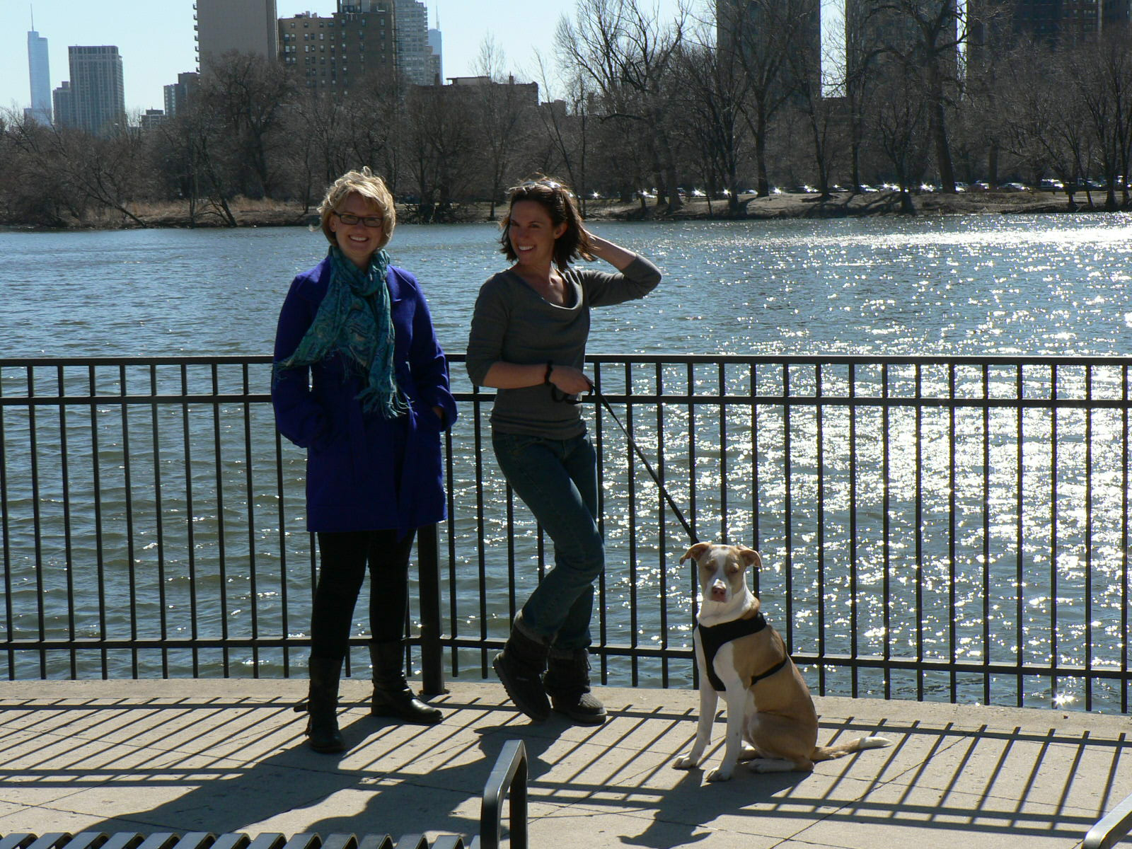 Abra, Karen, and Willie posing