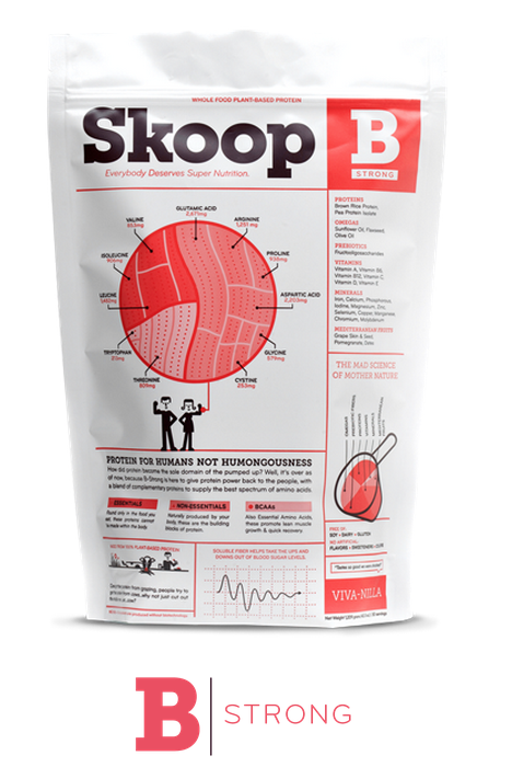 Vegan Protein Powder Review, Skoop Healthy Vegan Protein Powder