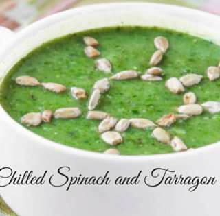 Chilled Spinach Tarragon Soup