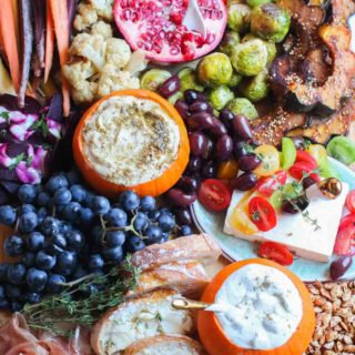 How to Build the Ultimate Fall Mezze Platter