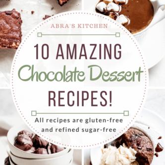 Healthy Chocolate Dessert Recipes