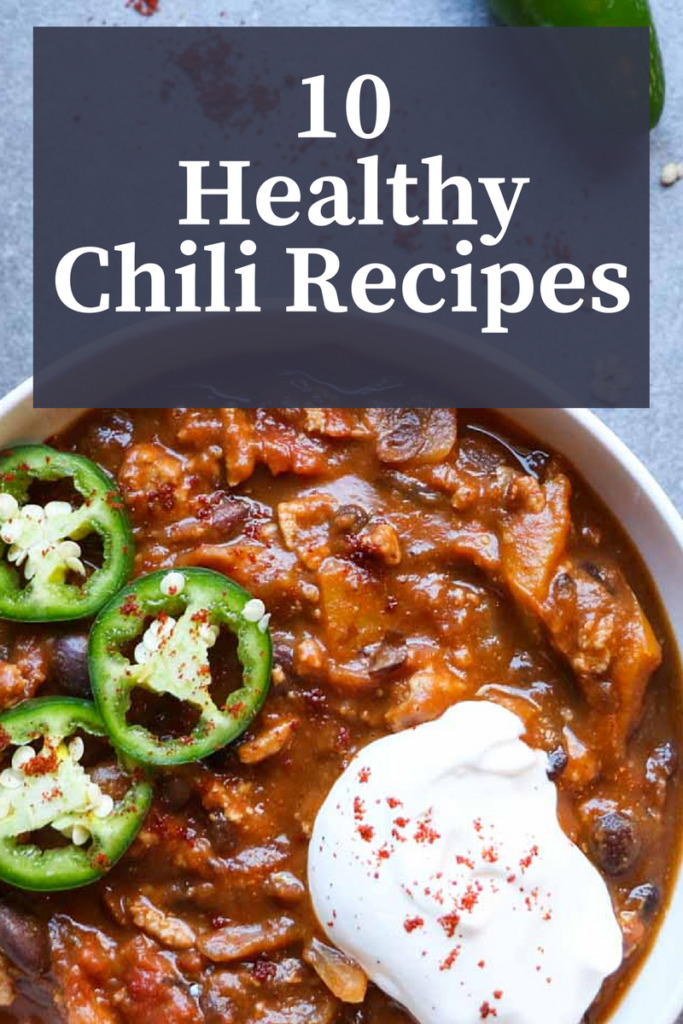 10 healthy chili recipes