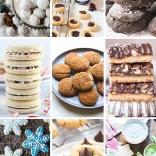 101 Healthy Christmas Cookie Recipes. Vegan, Gluten-Free, Paleo, and Traditional