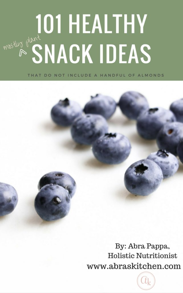 101 healthy snack ideas
