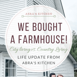 We bought a farmhouse