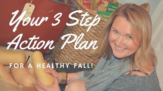 3 Step Fall Action Plan
