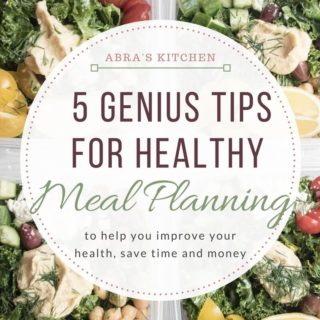 5 Genius Tips to Make Healthy Meal Planning Easier