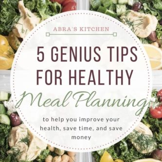 5 genius tips to make healthy meal planning a breeze