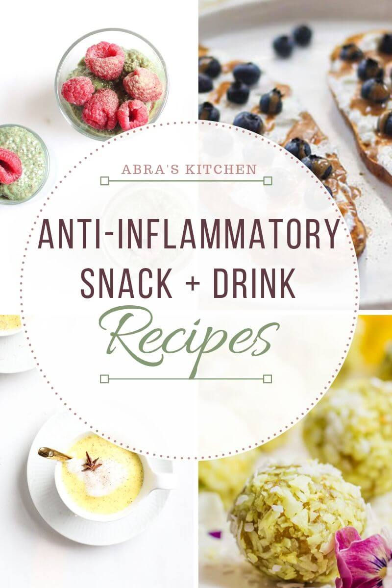 Anti-Inflammatory Snack and Drink Recipes