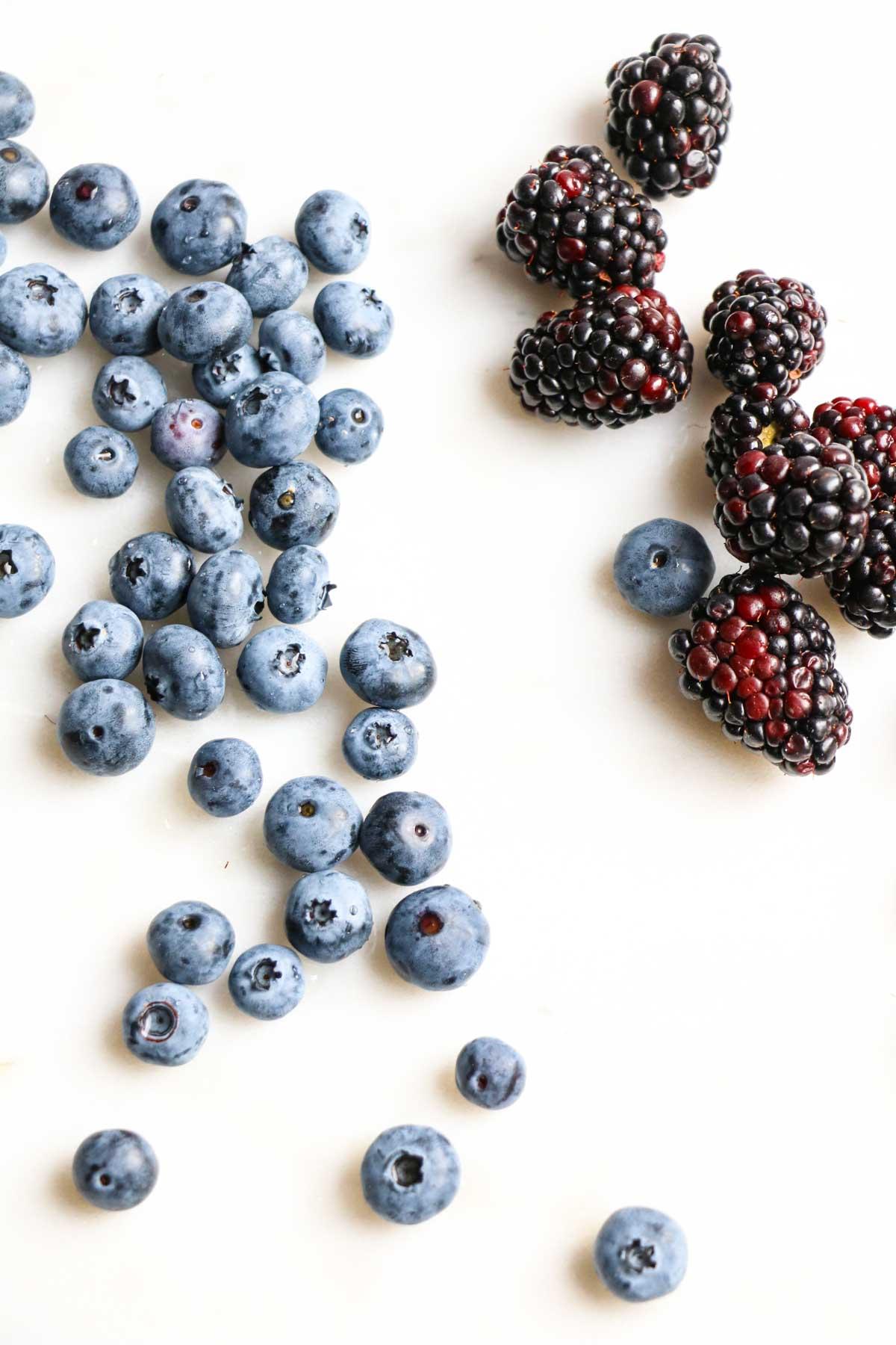 The freshest seasonal ingredients create a beet salad with berries and avocado basil vinaigrette. Vegan, gluten free, paleo, Whole30.  abraskitchen.com