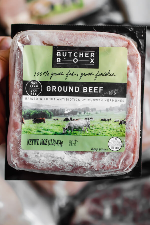 In this Butcher Box review, I am sharing my perspective as a nutritionist and answering the questions; Is grass-fed meat really better for you? What are the benefits of sourcing meat from Butcher Box? and is Butcher Box worth it?