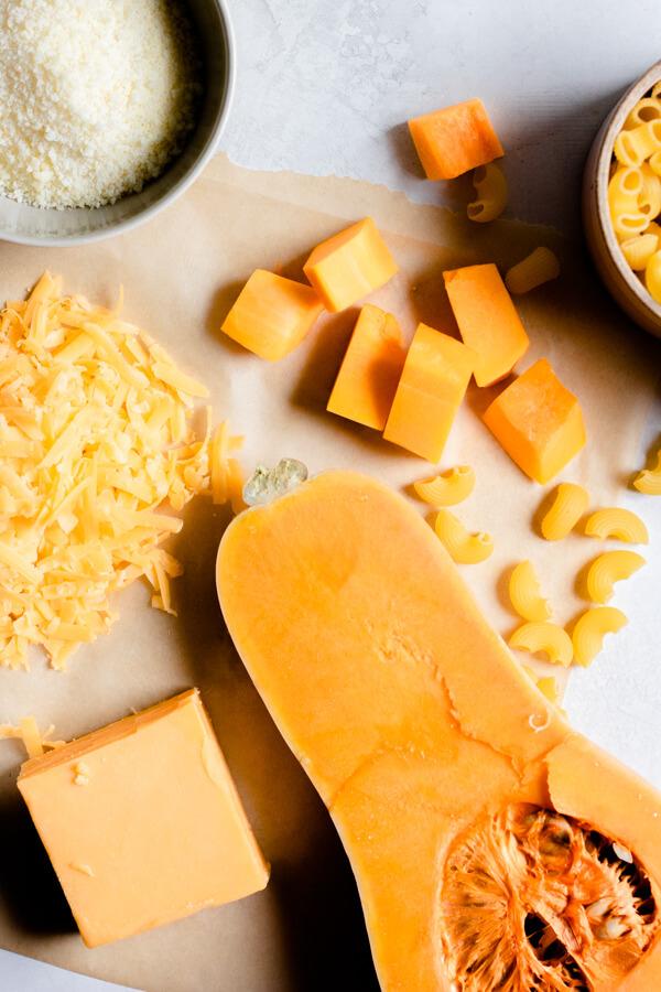 Healthier Butternut Squash Mac and Cheese