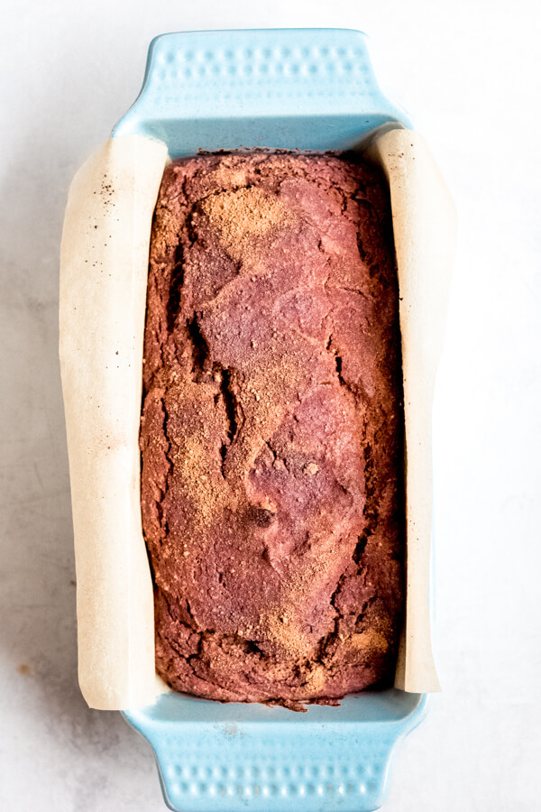 Baked Cinnamon Sweet Potato Bread
