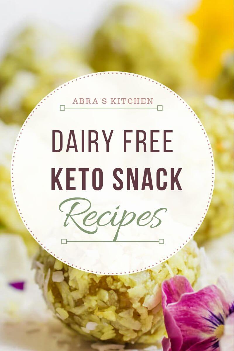 Dairy Free Keto Snack Recipes
