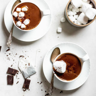Earl Grey Adaptogen Hot Chocolate