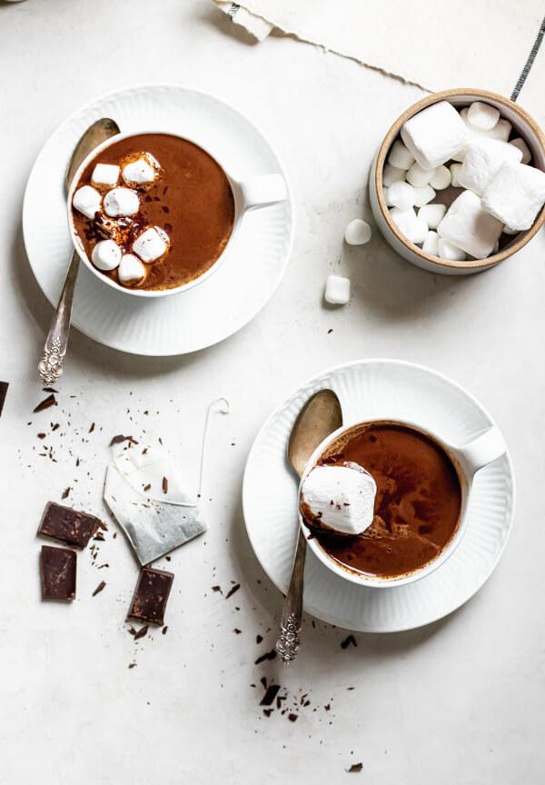 Earl Grey Adaptogen Hot Chocolate
