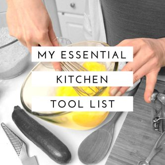 Essential Kitchen Tool List