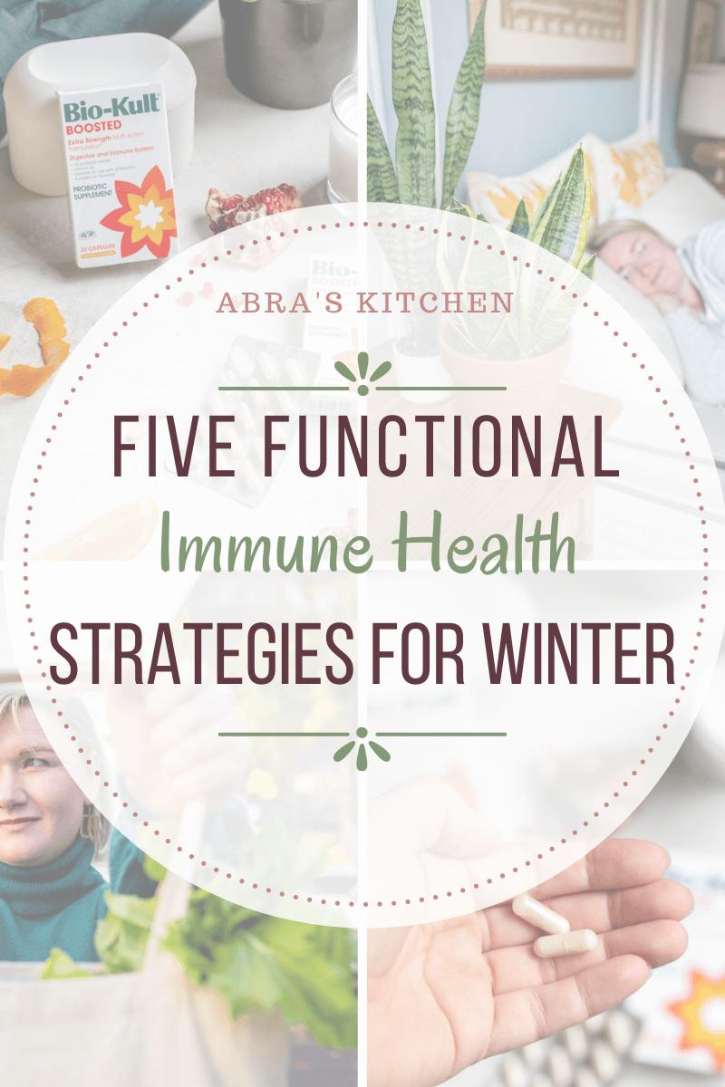 Functional Tips for Immune Health