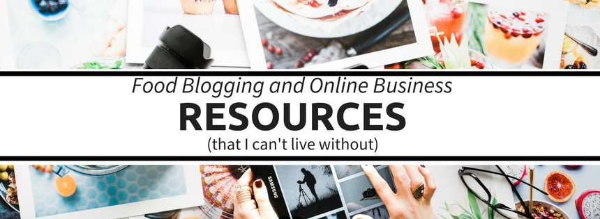 Food Blogging and Online Business Resources
