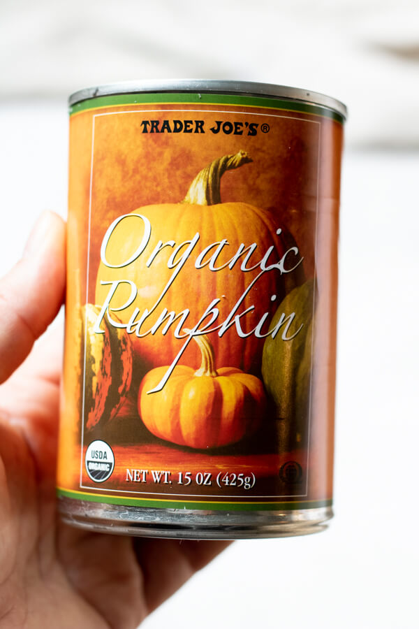 Gluten Free Pumpkin Spice Scones - Pumpkin Puree