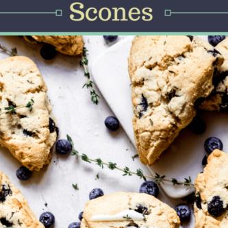 Gluten Free Blueberry Scones