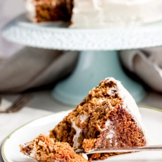 Tropical Carrot Cake - Gluten Free