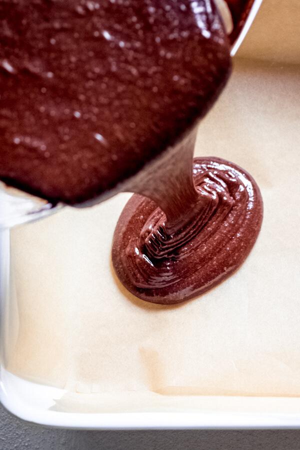 Grain Free Tahini Espresso Brownies-6