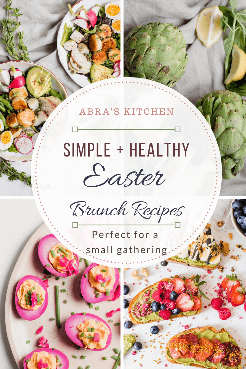 Healthy Easter Recipe Roundup