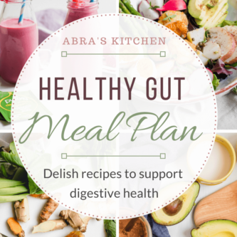 Healthy Gut 7 Day Meal Plan