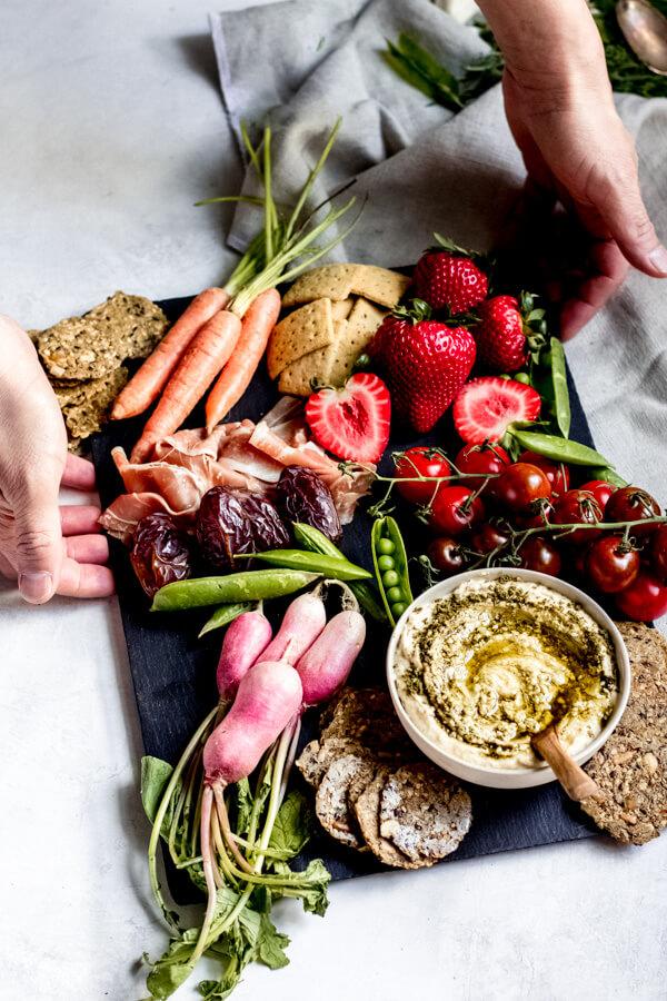 Healthy Snack Ideas - Beautiful Snack Board