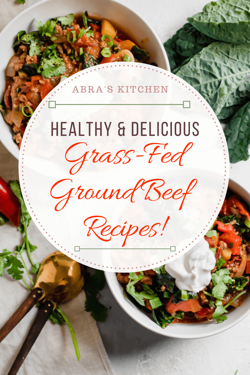 healthy grass fed ground beef recipes