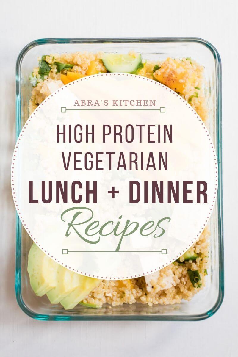 High Protein Vegetarian Meal Plan Abra S Kitchen