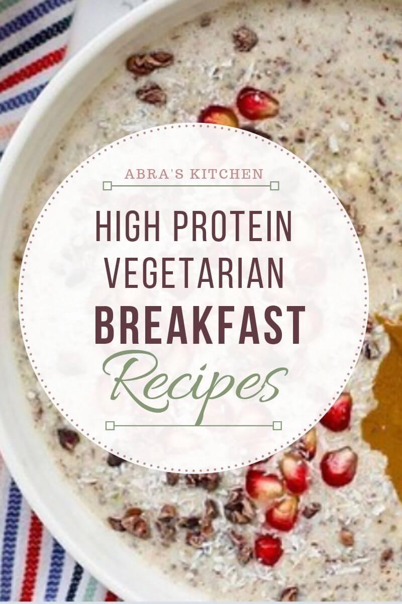 high protein vegetarian weight loss plan