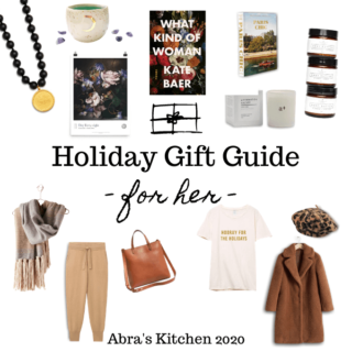 Holiday Gift Guide for Her 2020