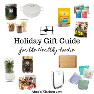 Holiday Gift Guide for the Healthy Foodie