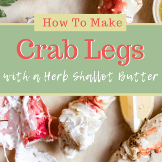 How to make crab legs