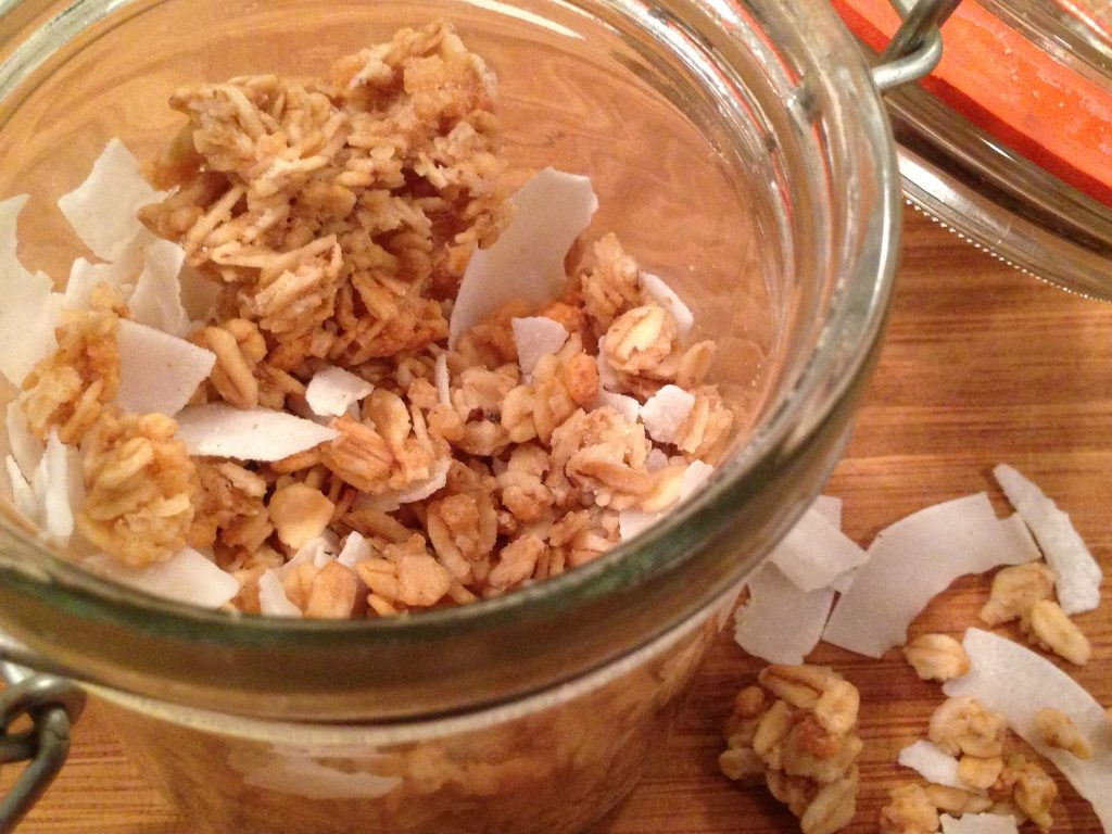 Gluten free, vegan homemade granola that packs a ton of flavor and nutrients! This will be your new favorite granola recipe, no doubt | abraskitchen.com