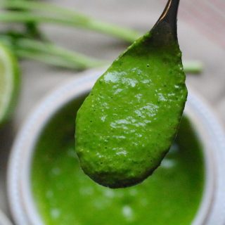 Quick and Healthy Parsley Garlic Sauce