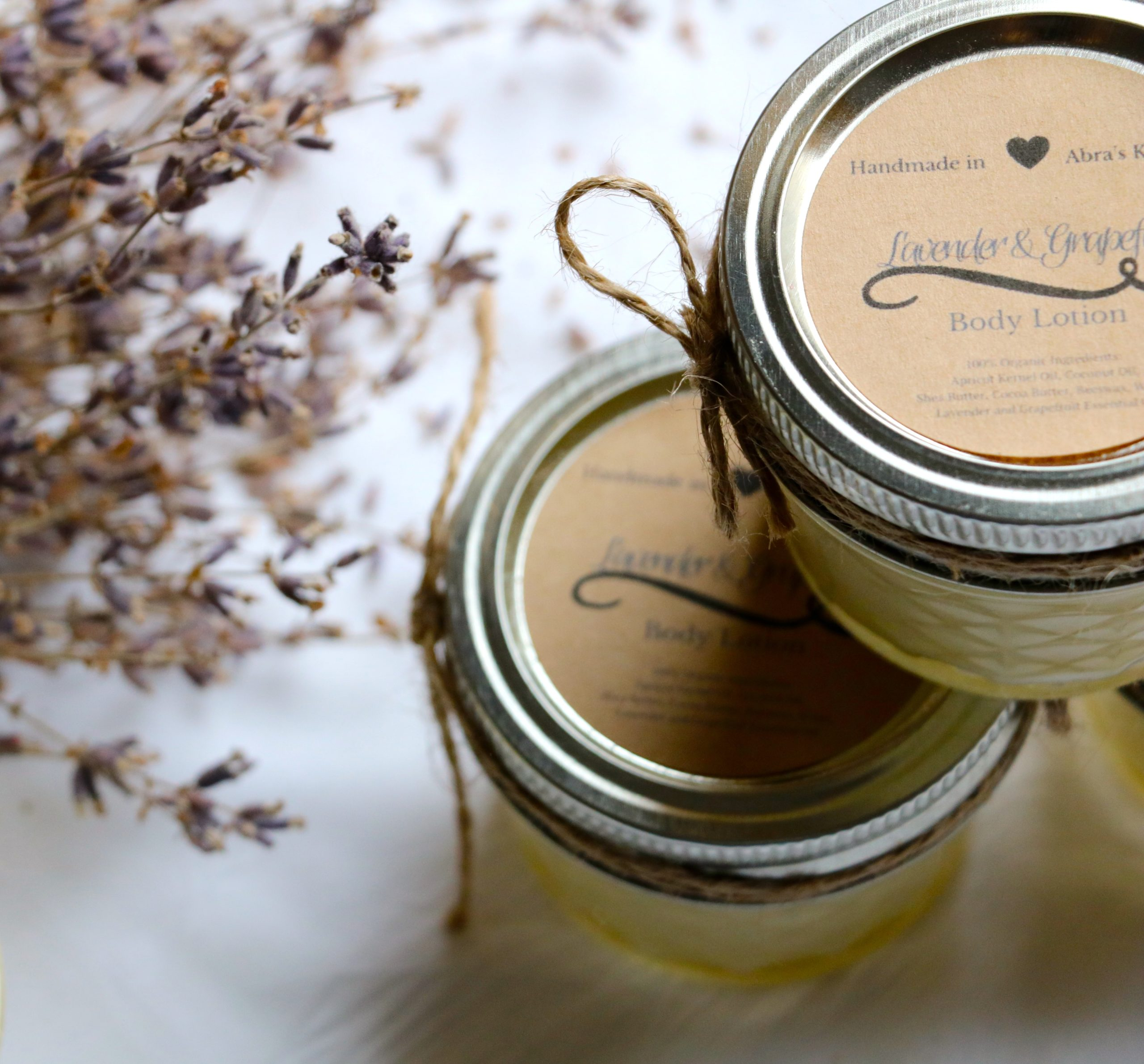 (Large Batch) DIY Whipped Lavender Lotion with Coconut Oil