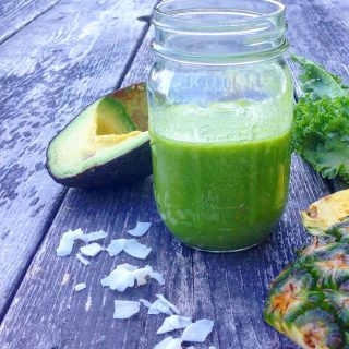 Kale-a-colada Green Smoothie